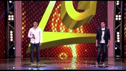 Ljubomir Perucica i Nikola Petrackovic - Splet - (Live) - ZG 4 Krug - 26.04.2014. EM 29.