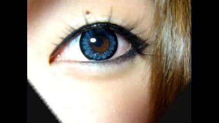 Geo Angel Blue circle lenses Review!
