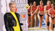 Пинк e бясна и защити спортистките, отказали да играят по бикини във Варна
