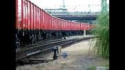 Локомотив Gfr 0601 525 - 2 С Товарен Влак