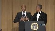 Пълното обръщение на Барак Обама на Вечерята на кореспондентите в Белия дом 2015
