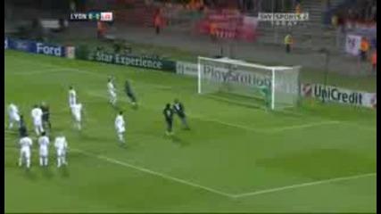 Лион 1 - 1 Ливърпул [][][] Lyon 1 - 1 Liverpool
