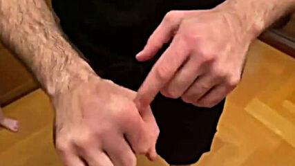 Ръцете на Яндиев след боя с Харитонов