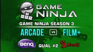 Game Ninja CS:GO #2 - arcade vs Film Plus