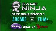 Game Ninja CS:GO #2 - arcade vs Film Plus
