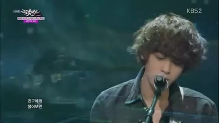Jung Joon Young - Teenager @ Music Bank Half-year special [27/06/14]