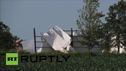 USA: Storms rip through Iowa as tornado season hits the Midwest