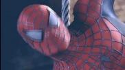 Епичният супер герой Питър Паркър / Човекът - Паяк от трилогията Спайдър - Мен (2002-2004-2007)