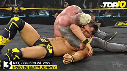 Top 10 Mejores Momentos de NXT: WWE Top 10, Feb 24, 2021
