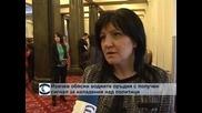 Йовчев обясни водните оръдия с получен сигнал за нападения над политици