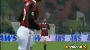 Милан - Киево 1:0 /фантастичен гол в 90 - ата минута/