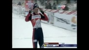 """Ски-бягане: Юстина Ковалчик спечели и преследването на """"Тур дьо ски"""""""