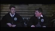 Краб и Гойл фалшива самоличност - Хари Потър и Стаята на тайните