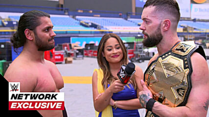 Guru Raaj beams with pride after message from Finn Bálor: WWE Network Exclusive, Jan. 26, 2021