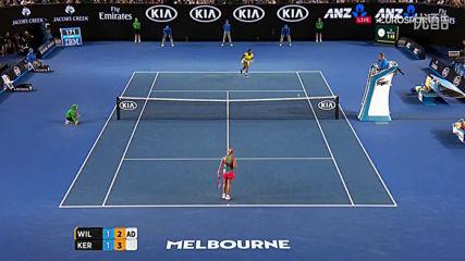 Angelique Kerber vs Serena Williams Australian Open 2016 Final 1080p