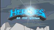 (част 1) Heroes Of The Storm- Tехно Викинг