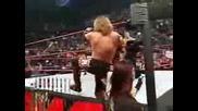 Wwe John Cena w/ Maria vs Edge w/ Lita