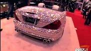 Ненормалният Mercedes Sl600 Направен От Диaманти