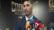 Асенов: Надявам се след време да съм спортист номер 1