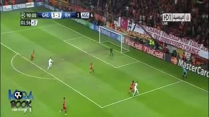Galatasaray vs Real Madrid (3-2) 09.04.2013 Hd