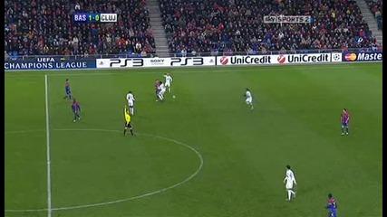 Fc Basel v Cfr Cluj Sky Highlights - football video - 23.11.10