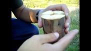 """""""дървен примус"""" ( Индианска свещ, Шведски огън )"""