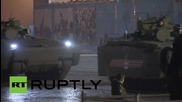 Russia: RS-24 Yars, Armata T-14s parade through Moscow for V-Day rehearsal