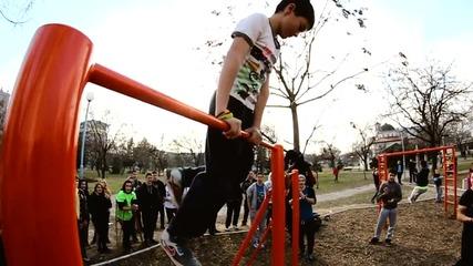 Открита тренировка по уличен фитнес - Пловдив #4