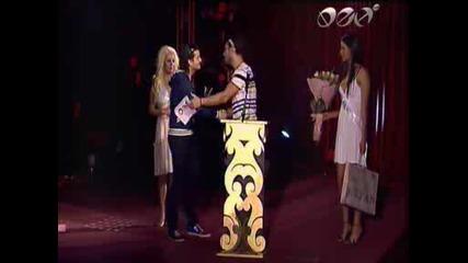 Стефан Илчев на наградите на Фен Тв 2009