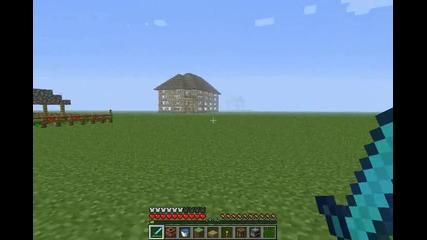 Minecraft : Идеи за къщи част 4