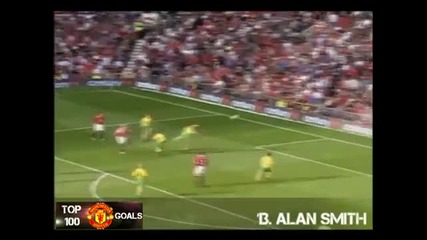 Top 100 Goals Man Utd ever