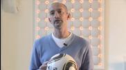 Дизайна на официалната топка за Световното Първенство по Футбол 2010 - Adidas Jabulani