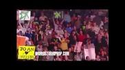 Snoop Dogg Spear Slams Dude On Wwe! (comes Through Rollin With 3 Ladies) Snoop В Кеча!!