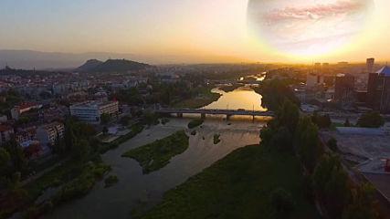 Залез на Юпитер над Пловдив / Jupiter sunset in Plovdiv, BulgariaPre-comp 2