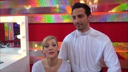 Dancing Stars - Албена и Калоян с пожелание за празниците
