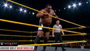 Keith Lee battles Dominik Dijakovic in jaw-dropping encounter: NXT, Sept. 25, 2019