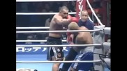 K-1 World Grand Prix 2001 Mark Hunt vs Jerome Le Banner