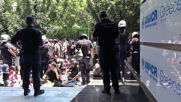 Greece: Refugees protest outside UN offices in Athens amid eviction concerns