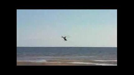 Хеликоптер Пада в Морето!