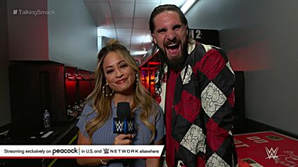 Seth Rollins isn't sweating Hell in a Cell: Talking Smack, Oct. 16, 2021