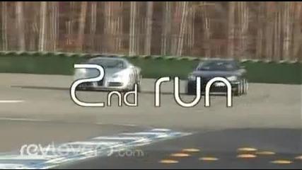 Mclaren Slr дори неможа да затрудни Bugatti Veyron