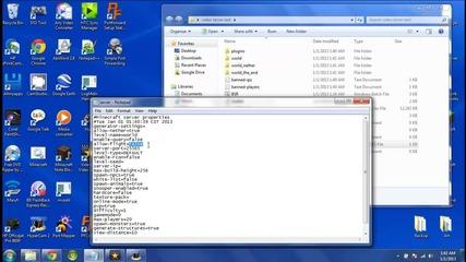 Как се прави Bukkit Server na Minecraft (no Hamachi)