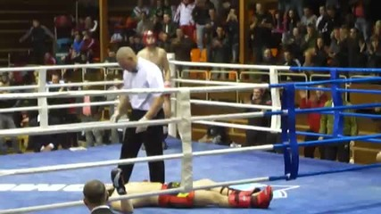 Държавно първенство по кик бокс - нокаут