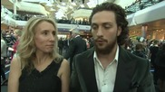 Avengers Age of Ultron European Premiere: Aaron Taylor-Johnson