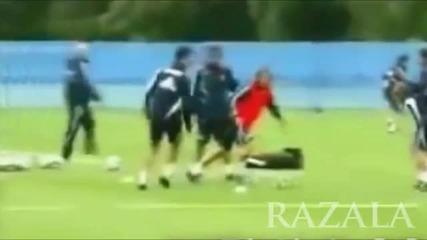 Cristiano Ronaldo freestyle Mufc & Realmadrid