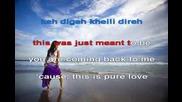 Arash ft. Helena - Pure Love Bez Vocal [karaoke]