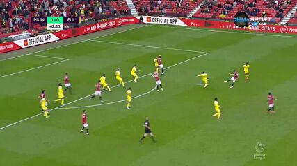 Манчестър Юнайтед - Фулъм 1:0 /първо полувреме/