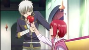 Akagami no Shirayuki-hime ( Snow White with Red Hair ) Епизод 1 Eng Sub + Bg Sub