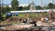 ВИДЕО: Левски стартира изграждането на чисто нов терен