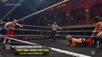 Tyler Bate saves Trent Seven with a surprise tag: NXT UK TakeOver: Blackpool (WWE Network Exclusive)